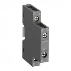 Блок контактный дополнительный CAL4-11 (1НО, 1НЗ) боковой для контакторов AF09…AF96 реле NF22E…NF44E