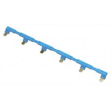 6-полюсный шинный соединитель для розеток 94.54; синий