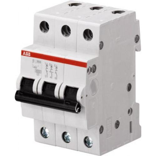 Автоматический выключатель 3-полюсной SH203 C 0,5 2CDS213001R0984