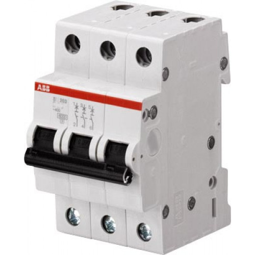 Автоматический выключатель 3-полюсной SH203 C 13 2CDS213001R0134