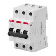 Автоматический выключатель 3P, 25A, C, 4,5кА, BMS413C25