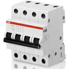 Автоматический выключатель 4-полюсной SH204 C 0,5