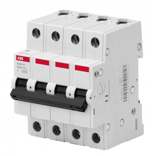 Автоматический выключатель 4P, 32A, C, 4,5кА, BMS414C32 2CDS644041R0324