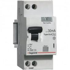 Автоматический выключатель дифференциального тока АВДТ RХ3 30мA 25А 1П+Н AС