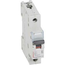 Автоматический выключатель DX3 1П B1A 6000/10kA