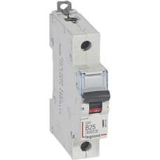 Автоматический выключатель DX3 1П B25A 6000/10kA