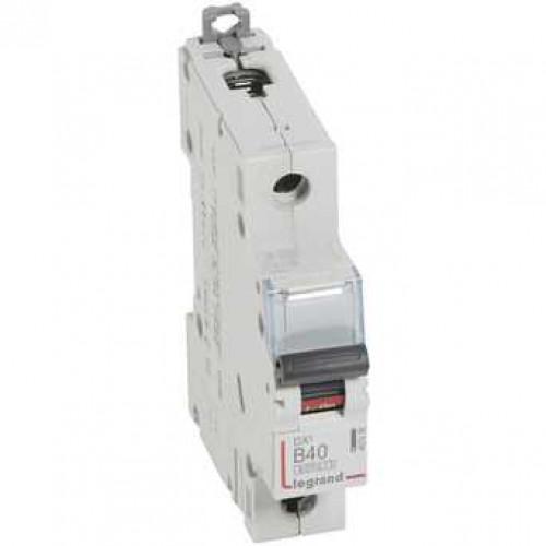 Автоматический выключатель DX3 1П B40A 6000/10kA 407436