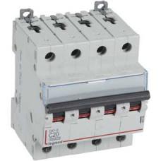 Автоматический выключатель DX3-E C20 4П 6000/6kA