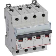 Автоматический выключатель DX3-E C25 4П 6000/6kA