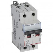 Автоматический выключатель DX3-E C3 2П 6000/6kA