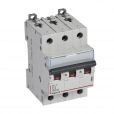 Автоматический выключатель DX3-E C3 3П 6000/6kA