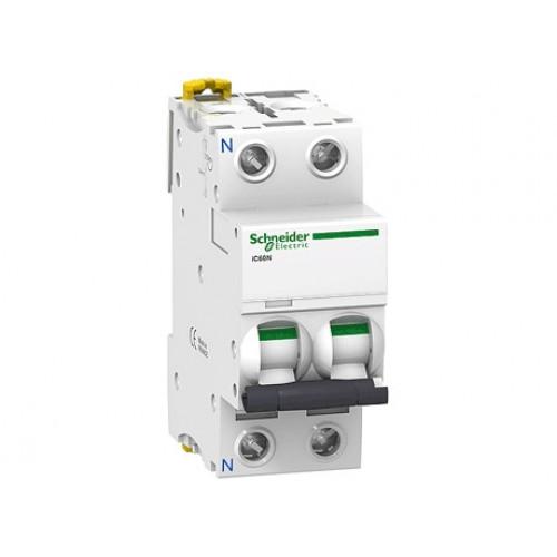 Автоматический выключатель iK60 2П 2A C A9K24202