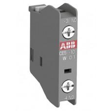 Блок контактный дополнительный CA5X-01 (1Н3) фронтальный для контакторов AX09…AX80