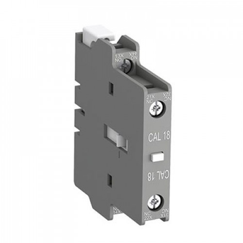 Блок контактный дополнительный CAL18-11B боковой 1HO1НЗ для контакторов АF400-АF1650 1SFN010720R3311