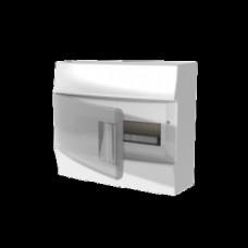 Бокс настенный Mistral41 12М прозрачная дверь (с клемм)