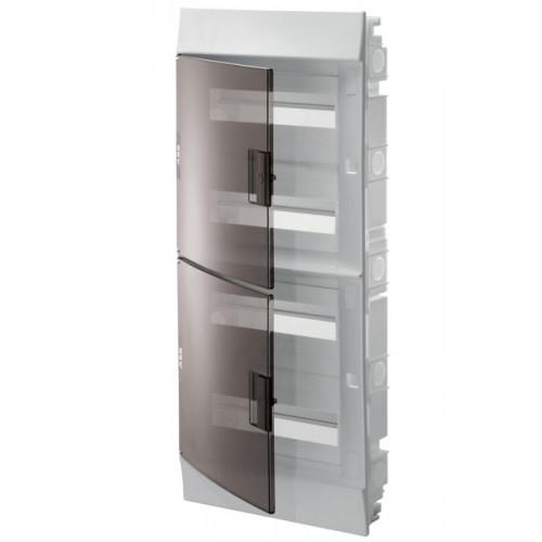Бокс в нишу Mistral41 48М прозрачная дверь (c клемм) 1SLM004101A2208