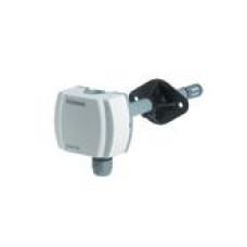 Датчик влажности и температуры канальный, DC0…10V, LG-Ni 1000,  0…95%, -15…+60 ºC, вкл. монтажный фланец