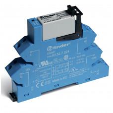 Интерфейсный модуль, электромеханическое реле; 2CO 8A; питание 220В DC; (пружинный зажим)