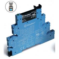 Интерфейсный модуль, твердотельное реле; выход 0,1A (48В DC); питание 24В DC;