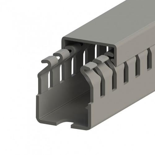 KKC 2530; Перфорированный короб, 25x30 (ШxВ) Широкий шаг перфорации (100м/упак) 551010