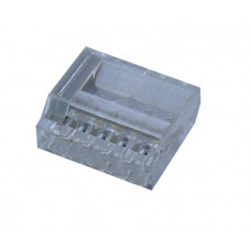 Клеммный соединитель в корпусе 4 х 2,5 мм.кв., (прозрачный);  BUK2,5/4