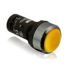 Кнопка CP1-30B-11 черная без фиксации 1НО+1HЗ