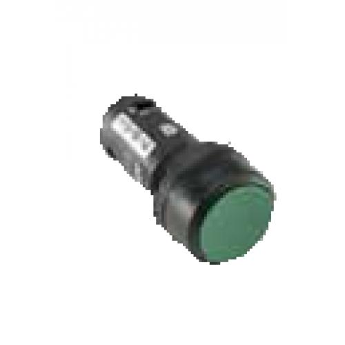 Кнопка MP2-21G зеленая (только корпус) с фиксацией с подсветкой 1SFA611101R2102