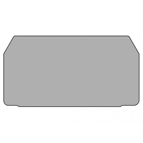 Концевой сегмент на измер. клеммники WGO2N, (серый); NPP WGO2N 450239