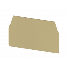 Концевой сегмент на измер. клеммники WGO3, (бежевый);  NPP WGO3