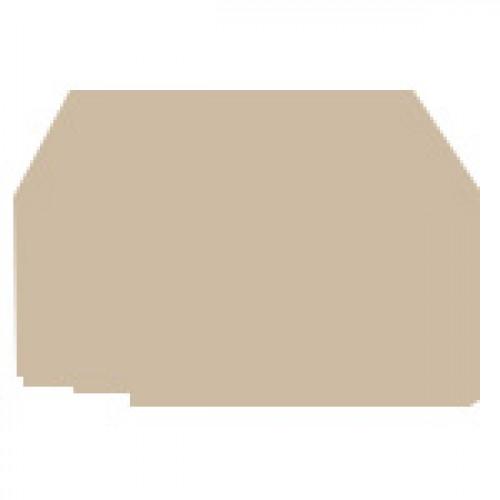 Концевой сегмент на клеммники ASK 3*, (бежевый); NPP ASK3 450050