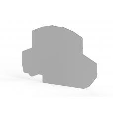 Концевой сегмент на клеммники NPP/PYK 4E (серый); NPP PYK 4E