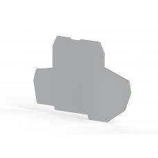 Концевой сегмент на клеммники PIK 4FS*, (серый); NPP PIK 4FS