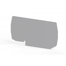 Концевой сегмент на клеммники PYK 10 (серый); NPP PYK10