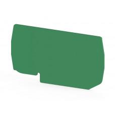 Концевой сегмент на клеммники PYK 10 (зеленый); NPP PYK10