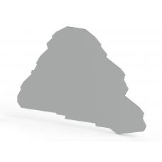 Концевой сегмент на клеммники PYK 2,5-2FT/-3F (серый); NPP PYK2,5-2FT/3F