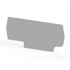 Концевой сегмент на клеммники PYK 2,5A (серый); NPP PYK 2,5A