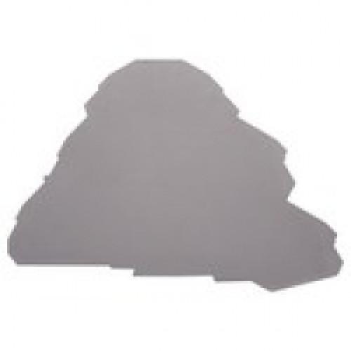 Концевой сегмент на клеммники YBK2,5-3F, (серый);  NPP YBK 2,5-3F 446249