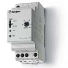 Контрольное реле для 1-фазных сетей; пониженное/повышенное напряжение; фиксированные регулировки; выход 1CO 10А;