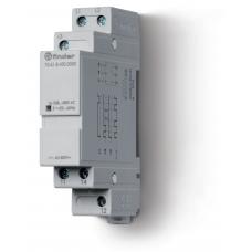 Контрольное реле для 3-фазных сетей; обрыв/чередование фаз, фиксированные регулировки; выход 1CO 6А;