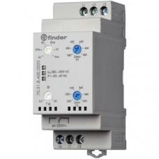 Контрольное реле для 3-фазных сетей; пониженное/повышенное напряжение, обрыв/чередование фаз, настраиваемые диапазоны; выход 1CO 6А;