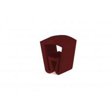 "Маркировка кабеля (кольцо) KG1  (0,75...4 мм.кв.), ""+"", красн., (уп. 100 шт.)"