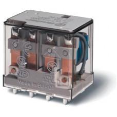 Миниатюрное силовое электромеханическое реле;  4CO 12A;  катушка 220В DC;