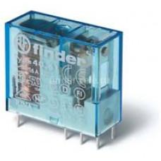 Миниатюрное универсальное электромеханическое реле;  1CO 16A;  катушка 110B DC;