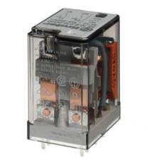 Миниатюрное универсальное электромеханическое реле;  2CO 10A;  катушка 220В DC;