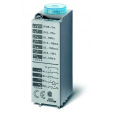 Миниатюрный мультифункциональный таймер (AI, DI, SW, GI);  питание 240В АС; 2CO 10A; регулировка времени 0.05с…100ч;