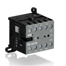 Миниконтактор B6-40-00 9A (400В AC3) катушка 24В АС