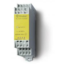 Модульное электромеханическое реле безопасности (реле с принудительным управлением контактами); 2NO+2NC 6A;  катушка 230В AC;