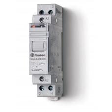 Модульное электромеханическое шаговое реле; 1NC+1NO 16А, 2 состояния;  питание 110В АC;
