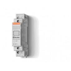Модульный контактор; 1NO+1NC 20А;  катушка 230В АС;