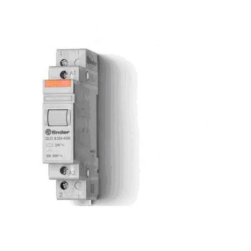 Модульный контактор; 1NO+1NC 20А;  катушка 230В АС; 222382304000